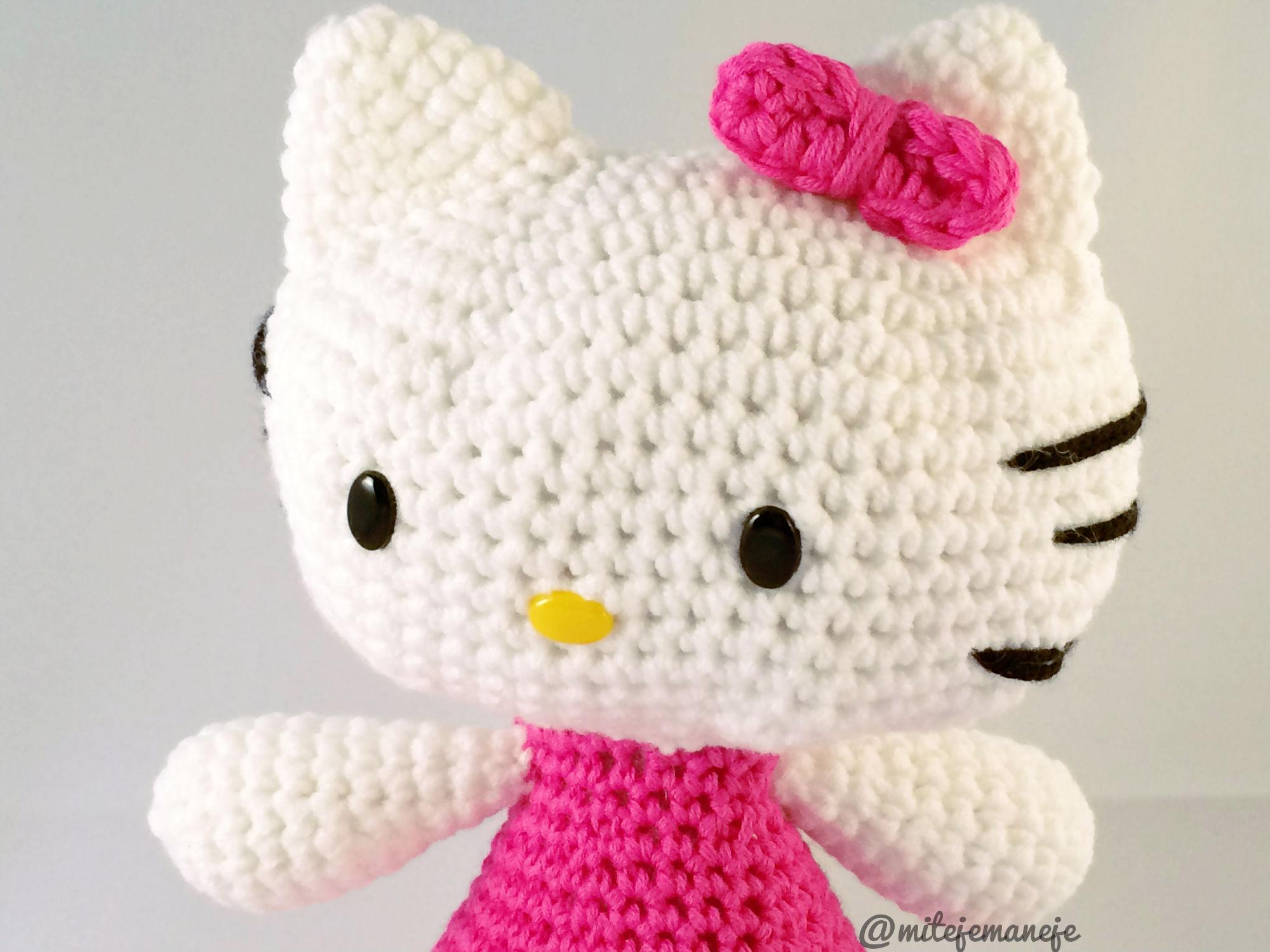 Amigurumi De Hello Kitty : Amigurumi Hello Kitty clasica Mi Tejemaneje